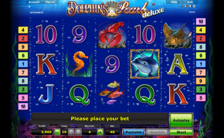 Dolphins Pearl Spielautomat