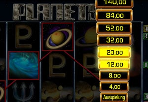 Planets Spielautomat