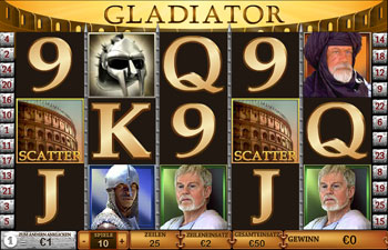 Gladiator im Europa Play Casino
