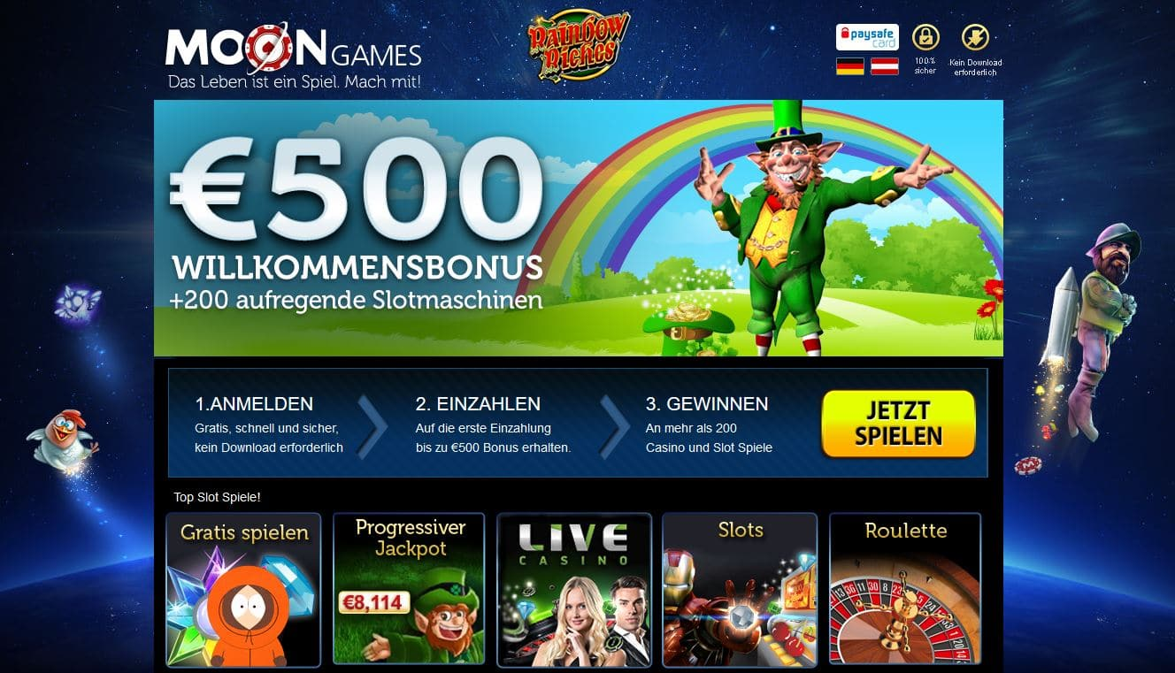 Moon Games Casino antesten